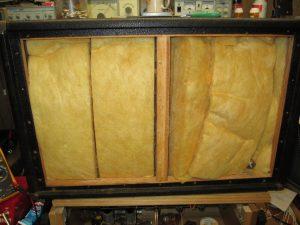 speaker cabinet insulation