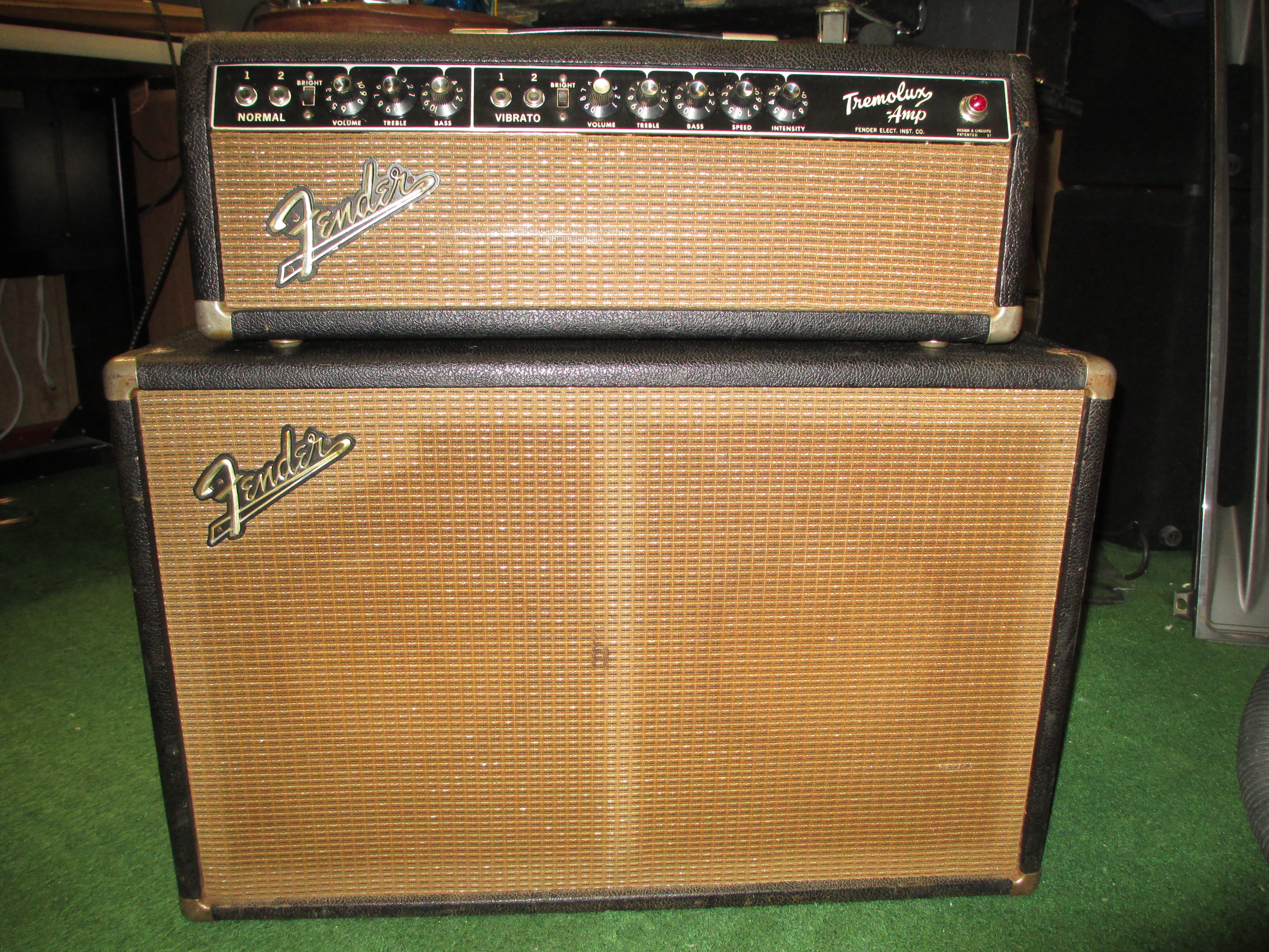 Fender Tremolux Head And Cab